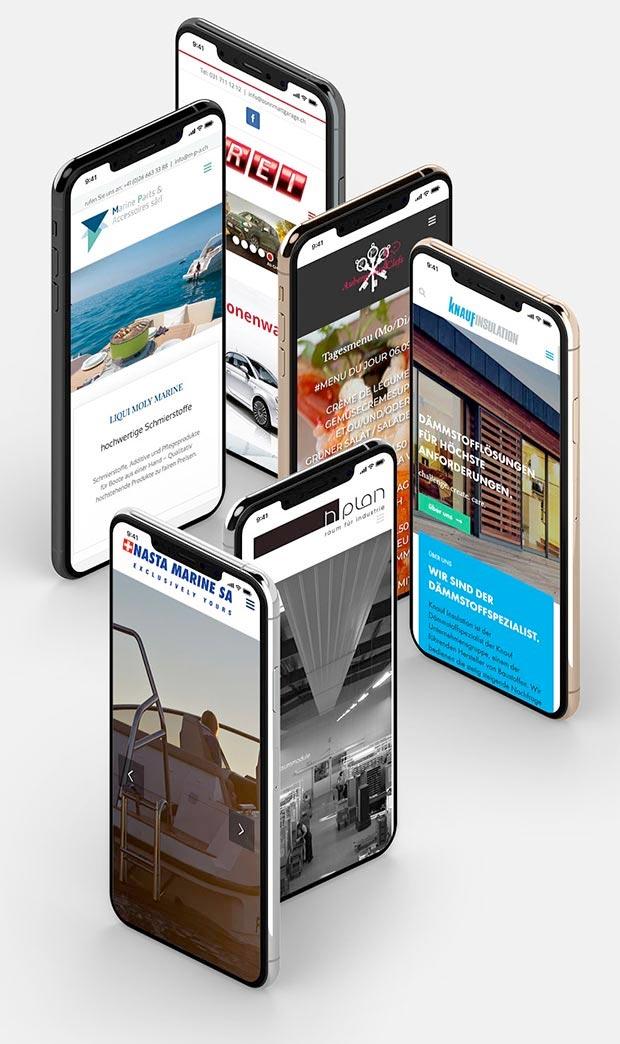 Promo Webseiten & Webshops